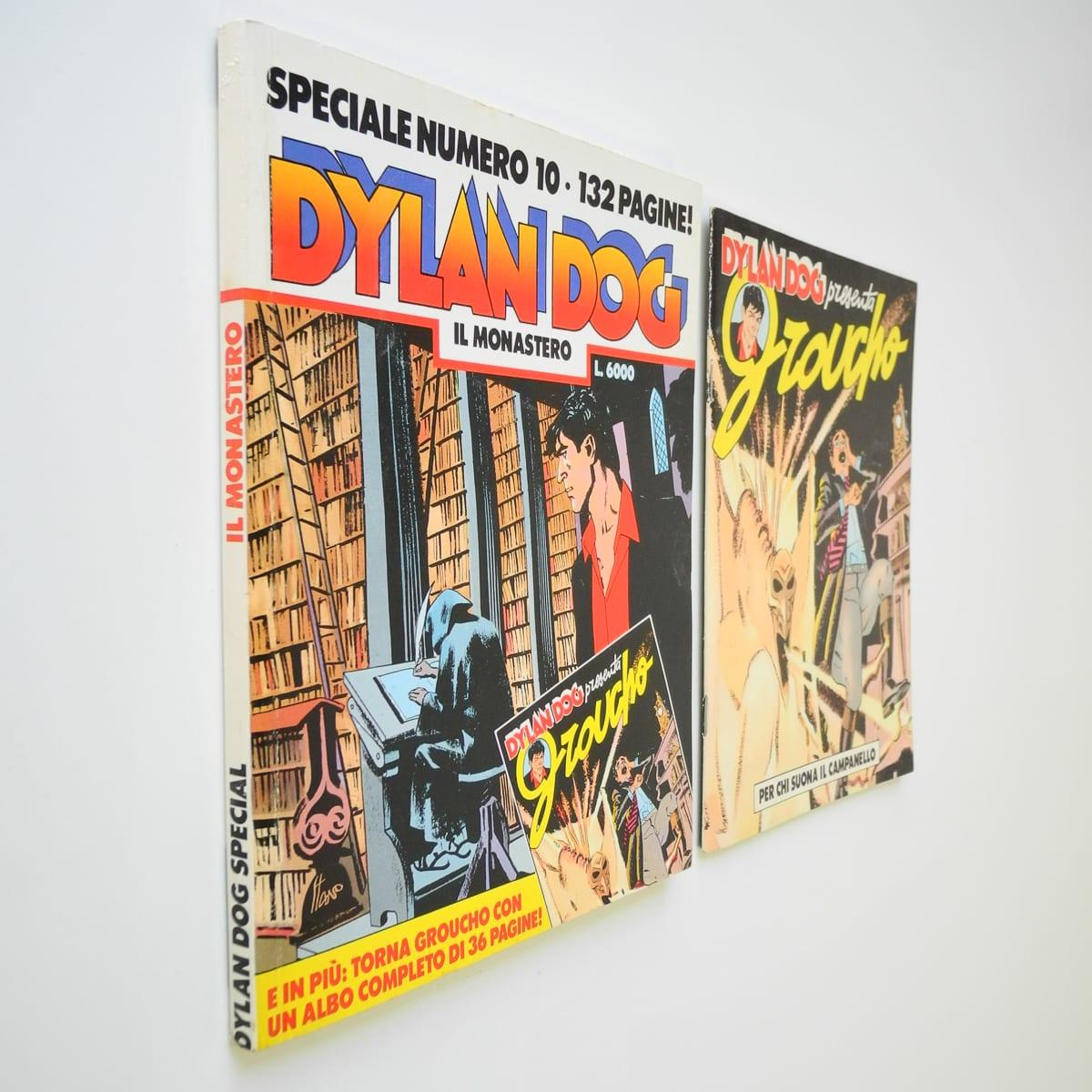 Dylan Dog speciale n. 10 con albetto Bonelli