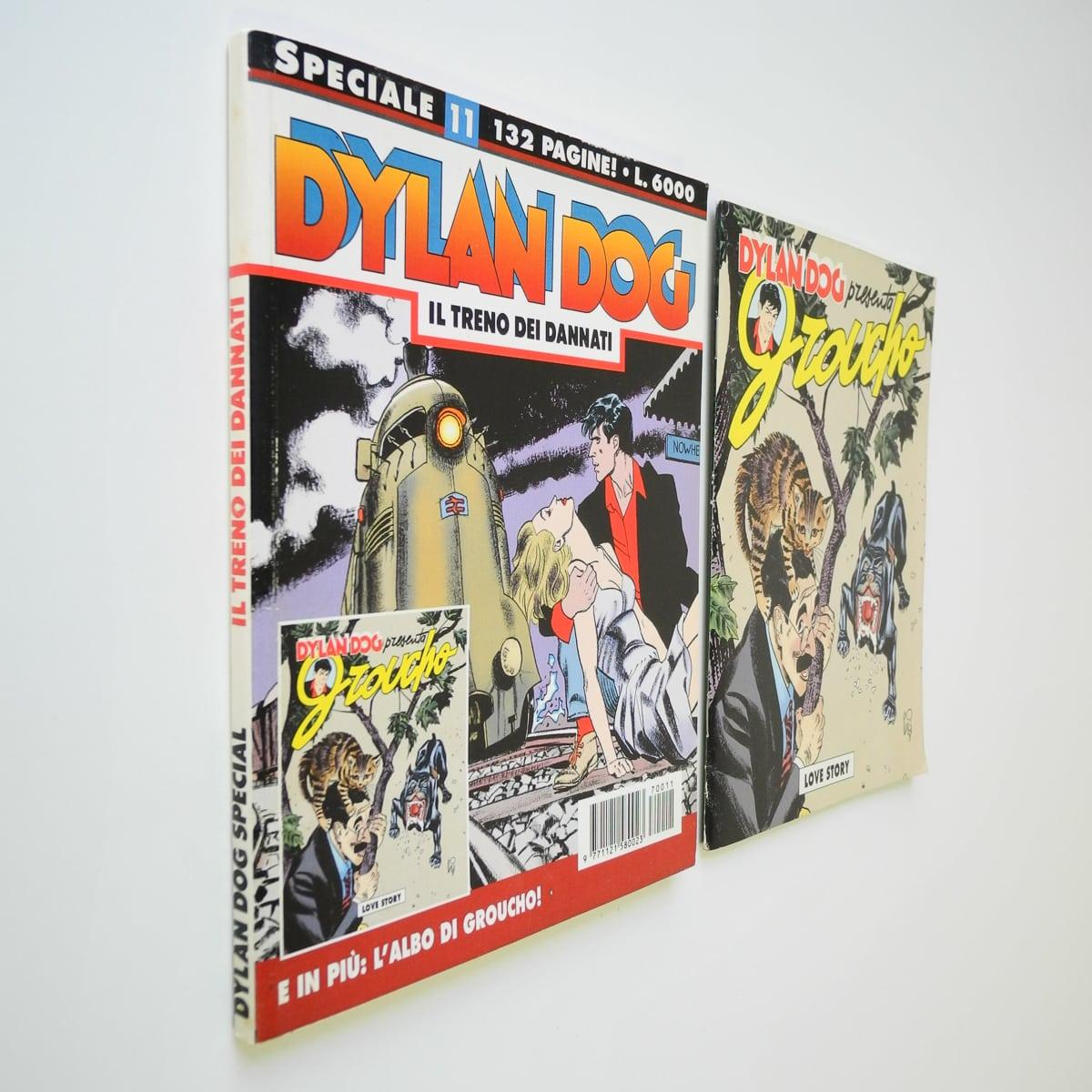 Dylan Dog speciale n. 11 con albetto originale