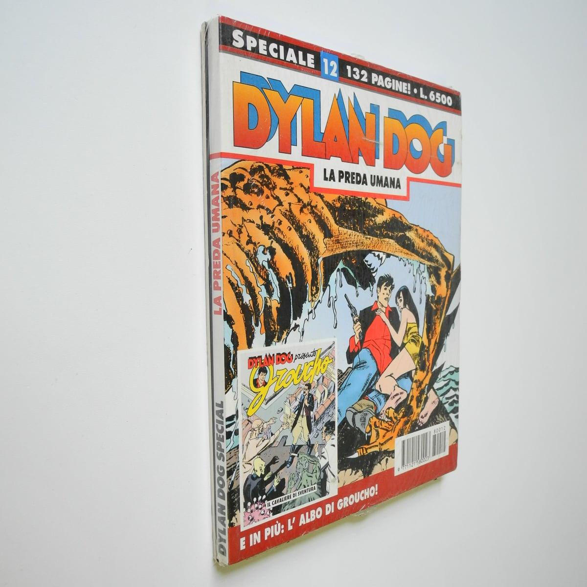 Dylan Dog speciale n. 12 con albetto blisterato originale