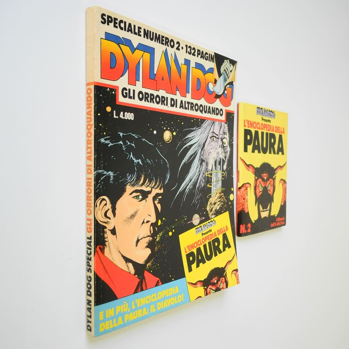 Dylan Dog speciale n. 2 con albetto Daim Press