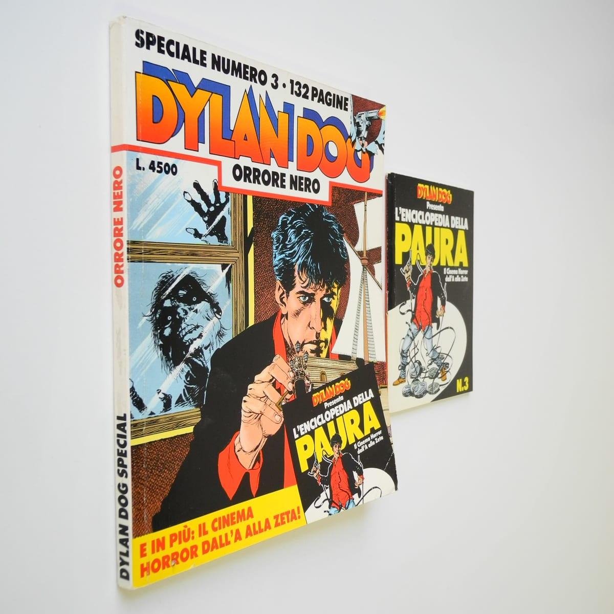 Dylan Dog speciale n. 3 con albetto Bonelli