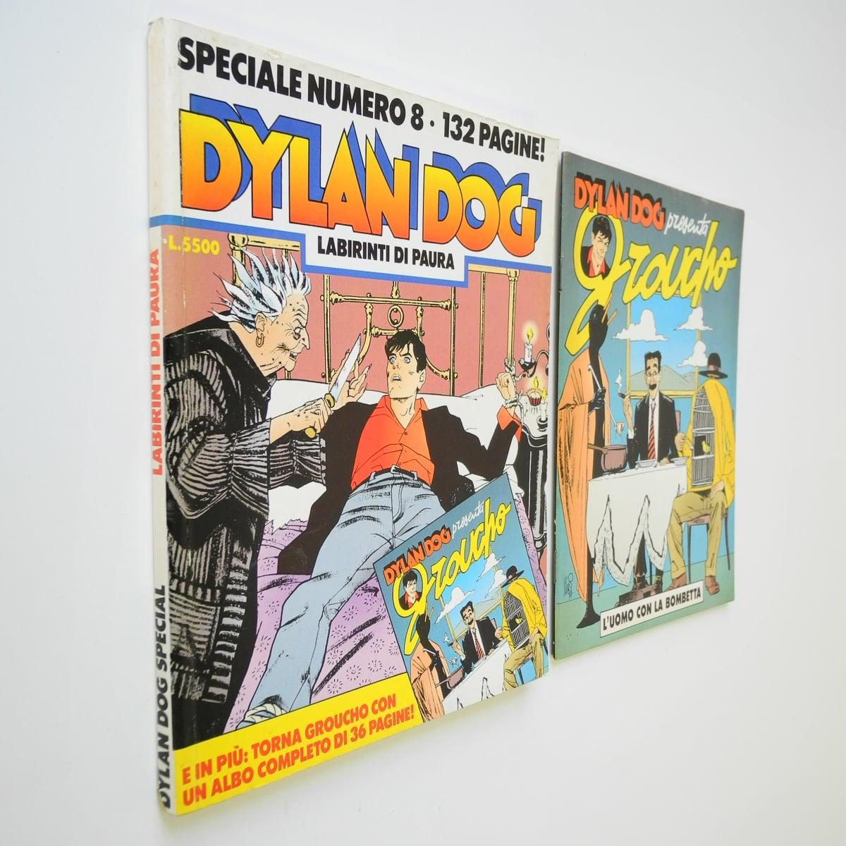 Dylan Dog speciale n. 8 con albetto originale
