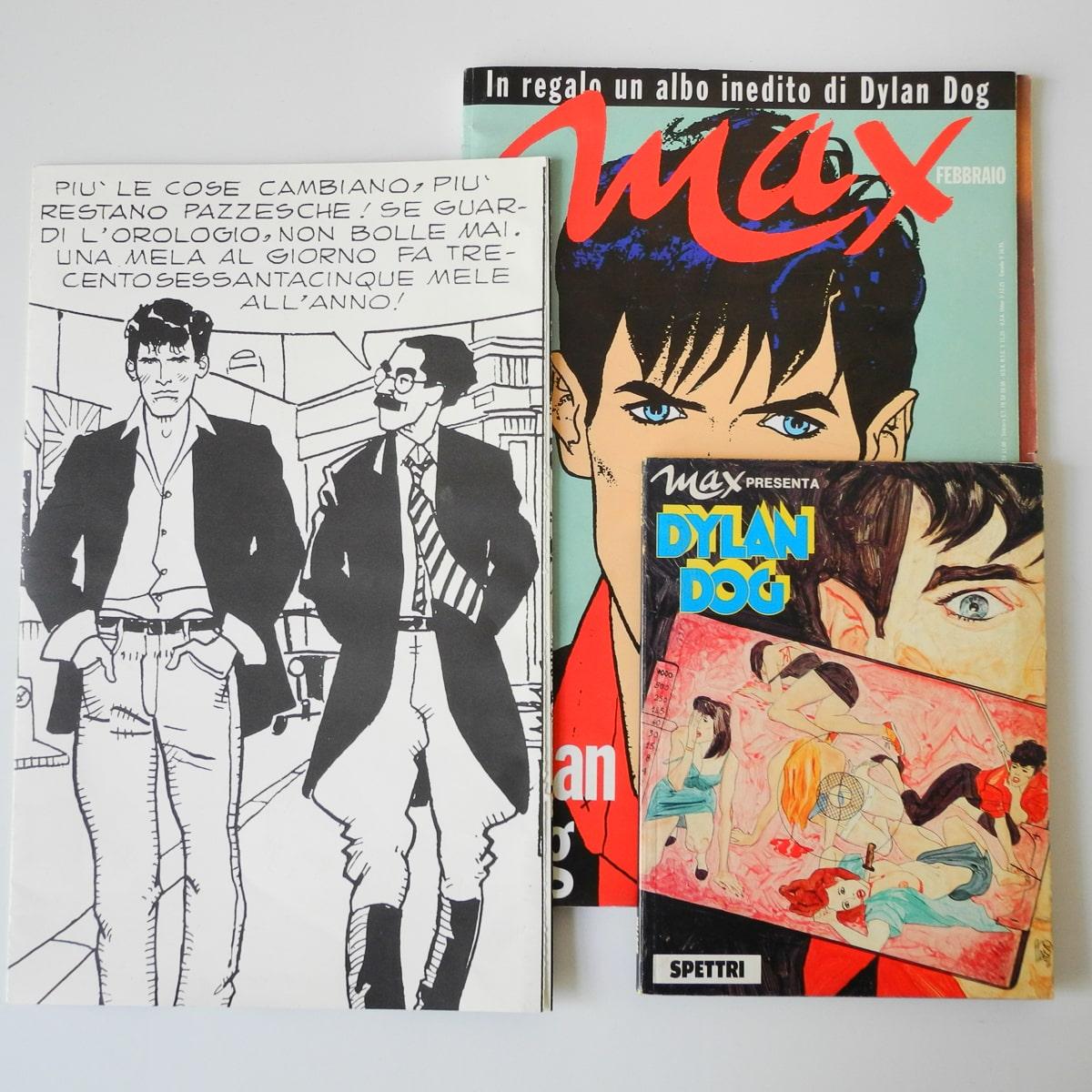 Dylan Dog volume Max con poster e albo Spettri