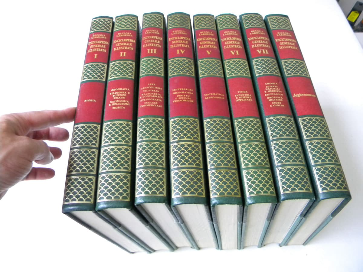 Enciclopedia Generale Illustrata n. 1/7 Rizzoli