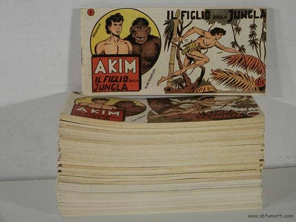 Fumetti a striscia Akim