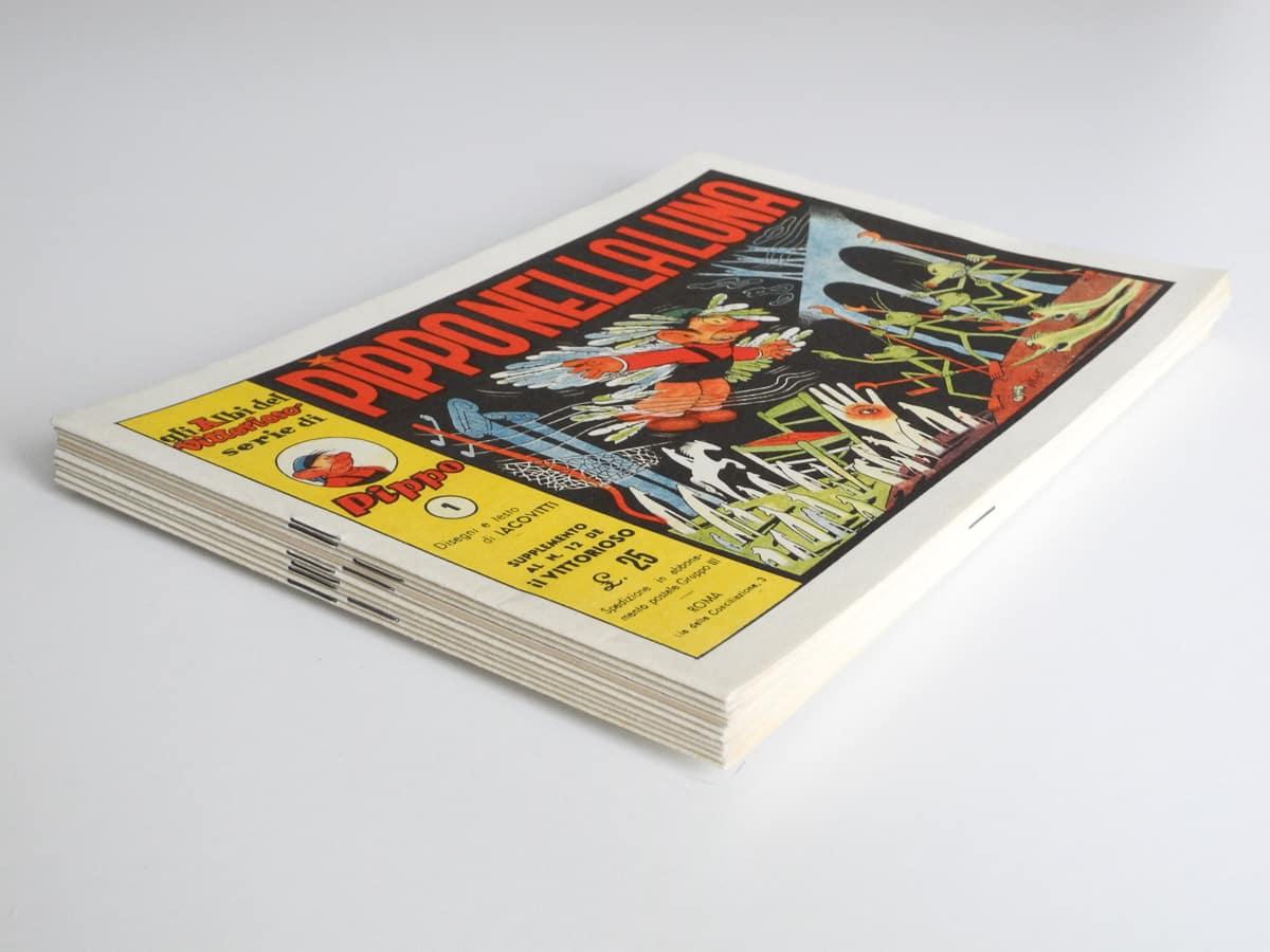 Gli Albi del Vittorioso n. 1/9 e 14 edizioni Ave