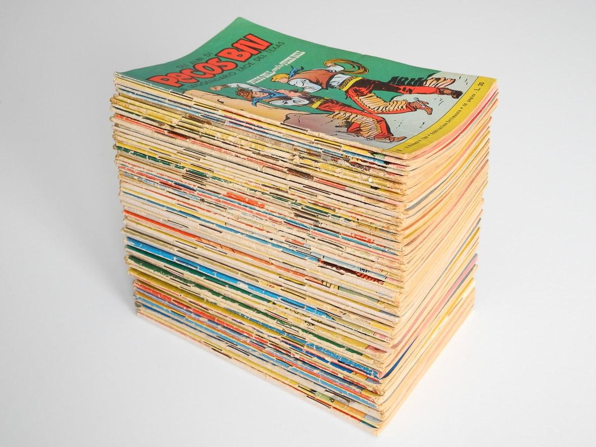 Gli Albi di Pecos Bill edizioni Mondadori