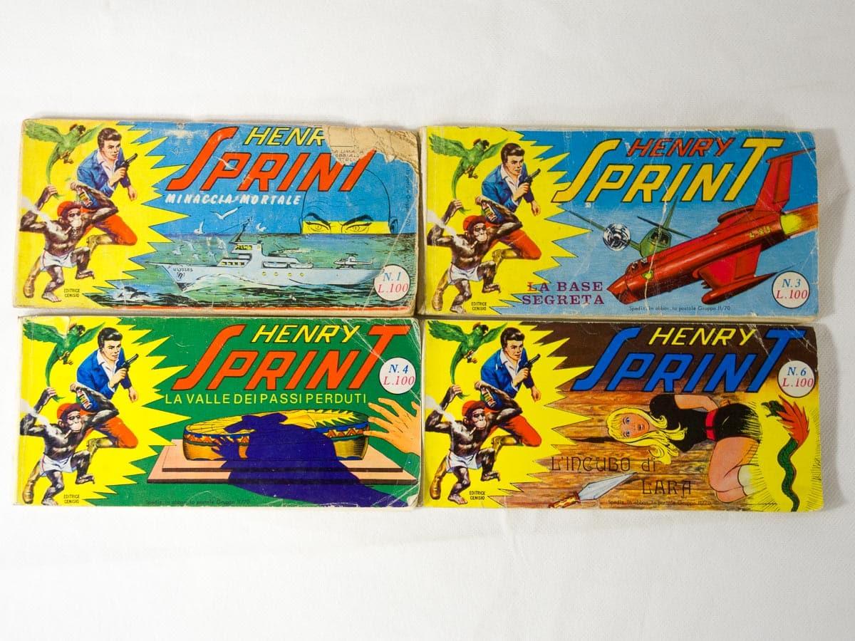 Henry Sprint n. 1 – 3 – 4 – 6 Cenisio