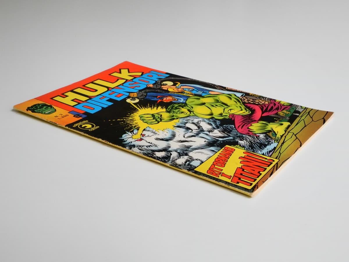 Hulk e I Difensori n. 3 originale