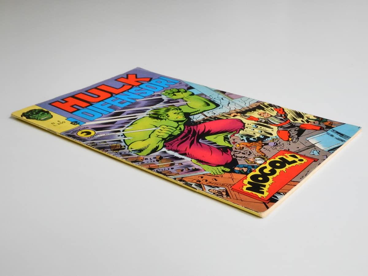 Hulk e I Difensori n. 4 Corno
