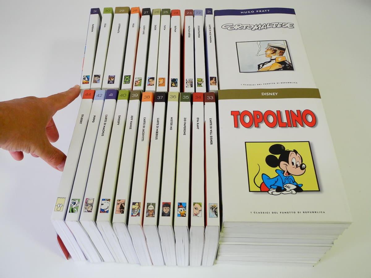 I Classici del Fumetto n. 1/44 edizioni Repubblica