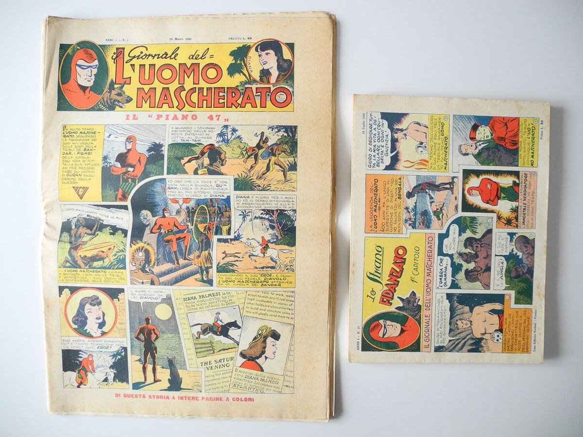 Il Giornale dell'Uomo Mascherato n. 1/32 serie completa Nerbini