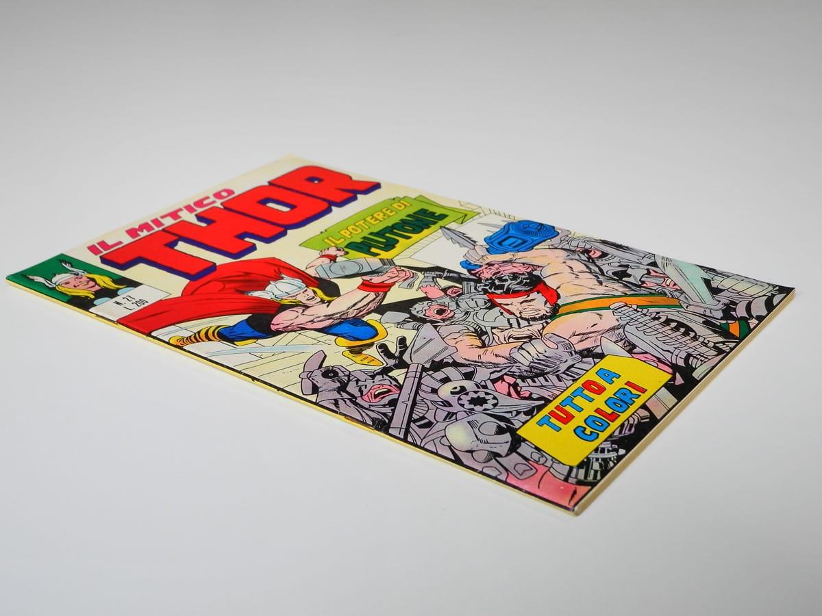 Il Mitico Thor numero 27 editoriale Corno