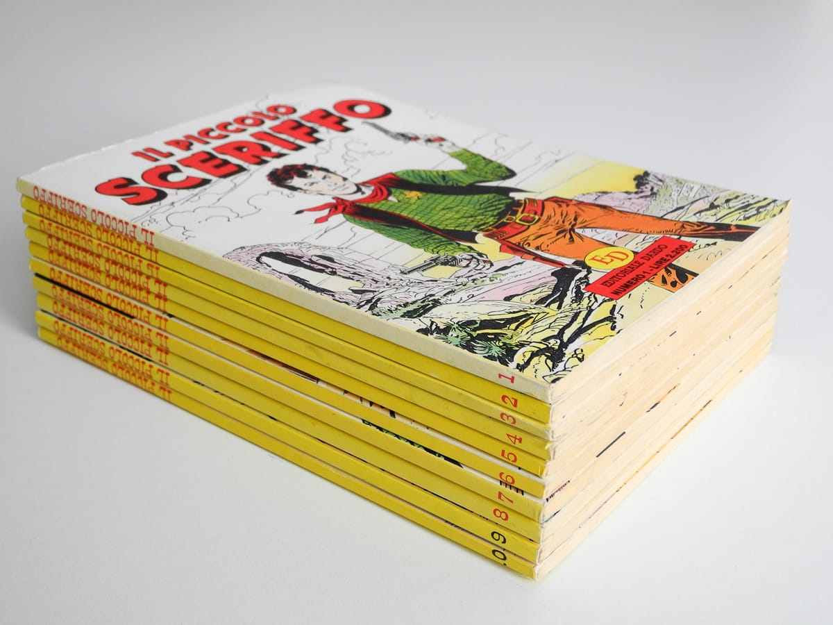 Il Piccolo Sceriffo n. 1/10 edizioni Dardo
