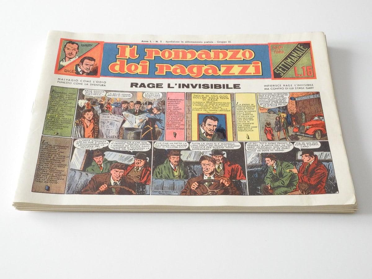 Il Romanzo dei Ragazzi n. 1/16 completo edizioni Toro