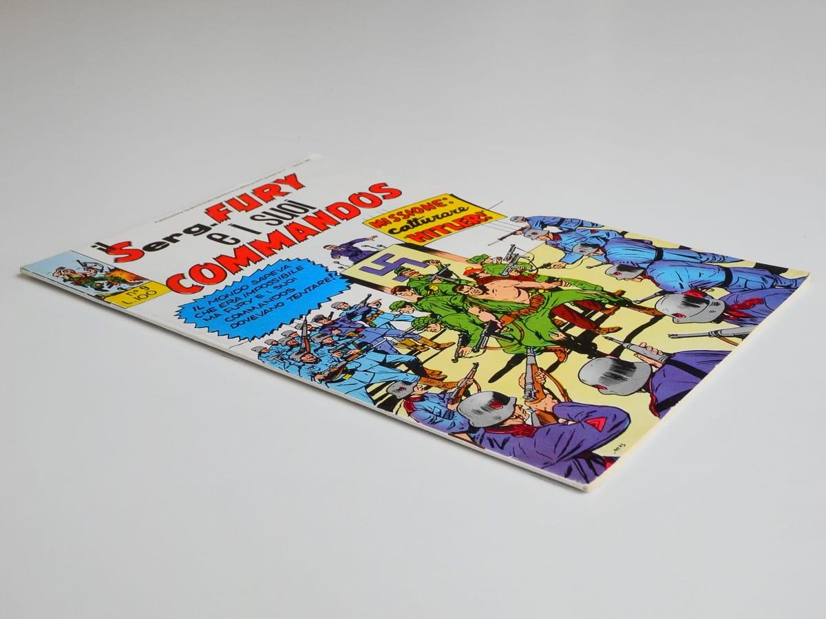 Il Sergente Fury e I Suoi Commandos numero 9 edizioni Le Maschere 1967