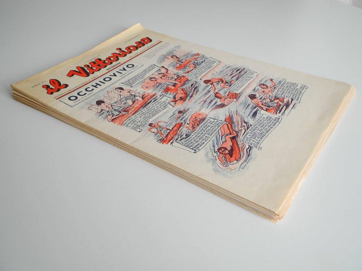 Il Vittorioso anno IX 1945 n. 1/25 edizioni Ave