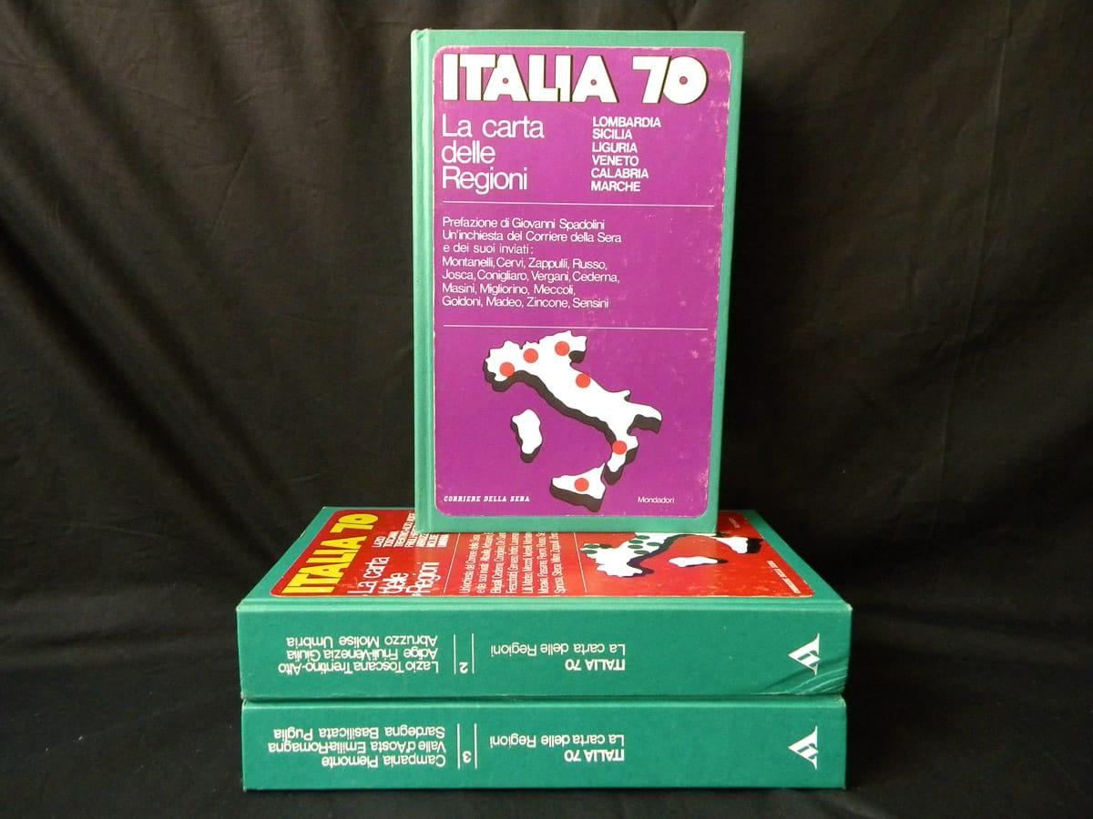 Italia 70 La Carta delle Regioni n. 1/3 Mondadori