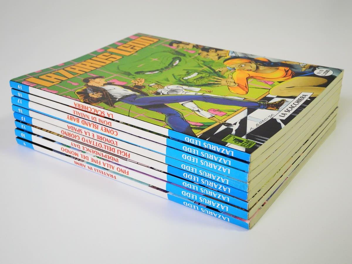 Lazarus Ledd edizioni Star Comics