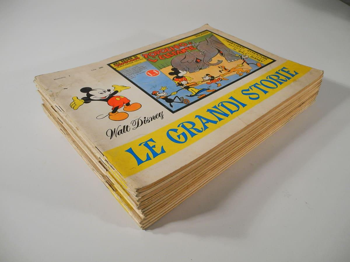 Le Grandi Storie completa n. 1/12 Mondadori