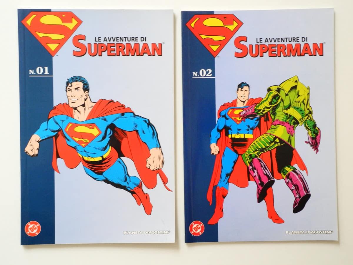 Le avventure di Superman n. 1 e 2 Planeta De Agostini