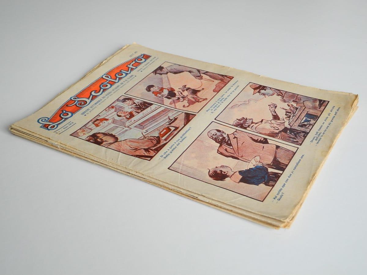 Lo Scolaro anno XXVII 1938