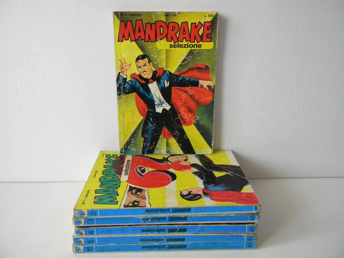 Mandrake Selezione anno primo n. 1/6 edizioni Fratelli Spada