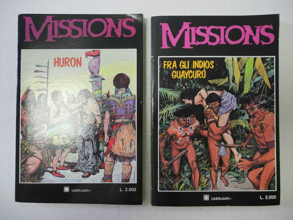 Missions n. 1 – 2 Fumetti d'arte