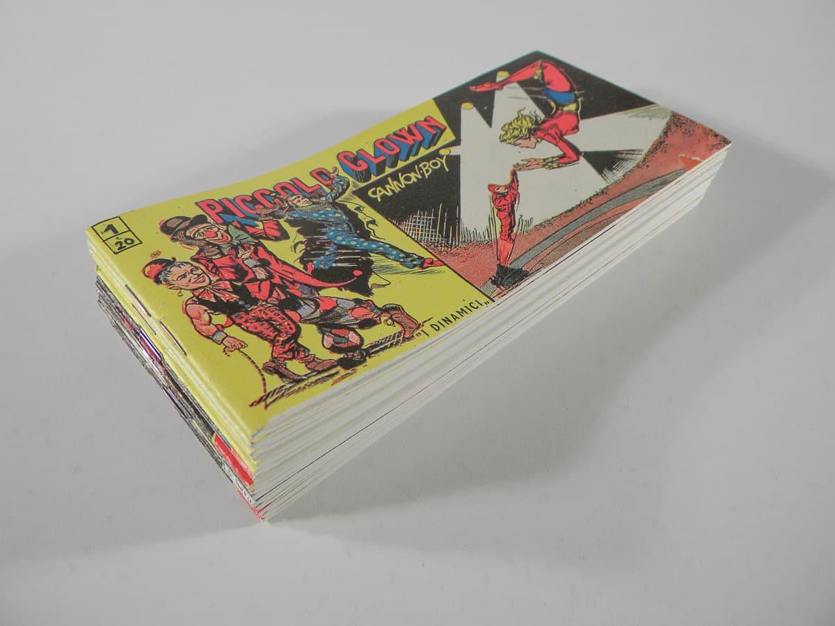 Piccolo Clown serie completa n. 1/15 Tomasina Vulcania Comics