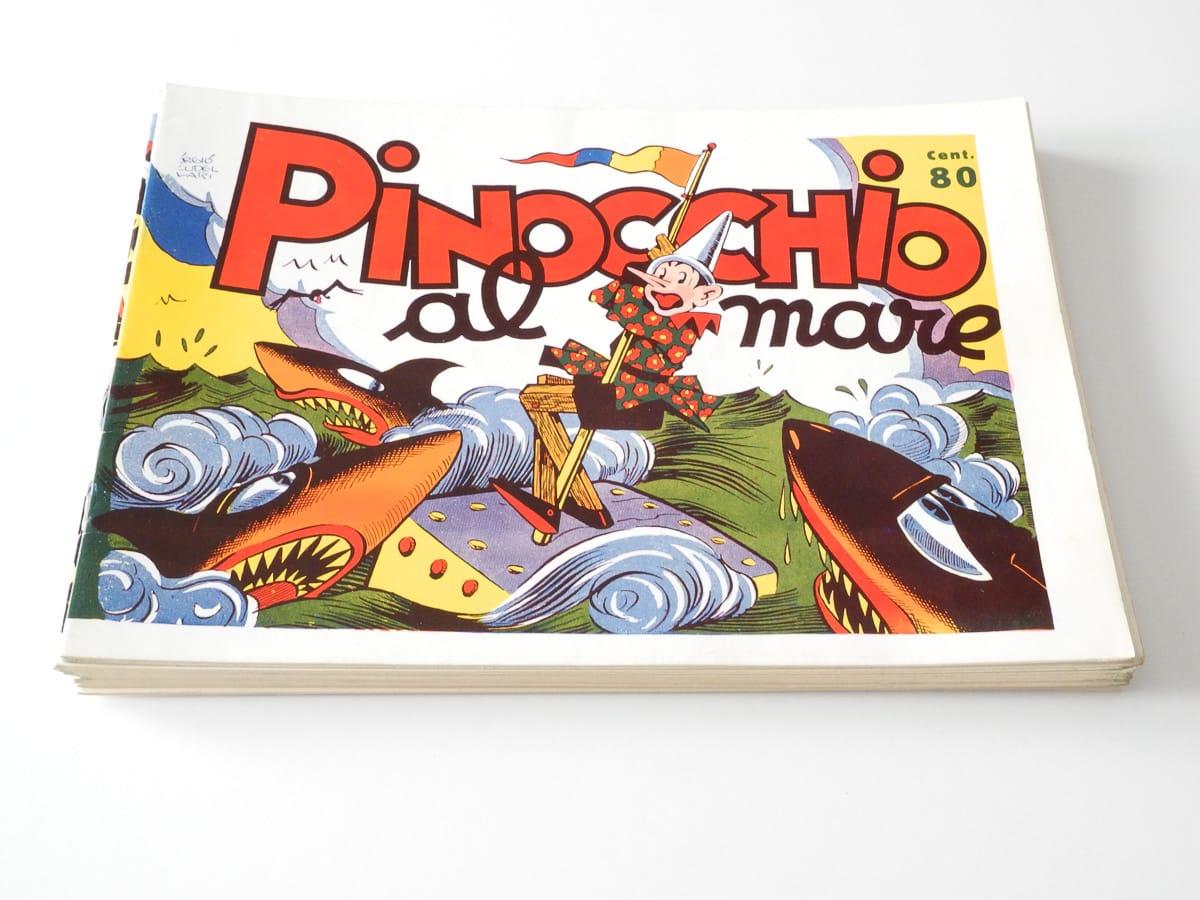 Pinocchio prima serie completa n. 1/12 edizioni Nerbini