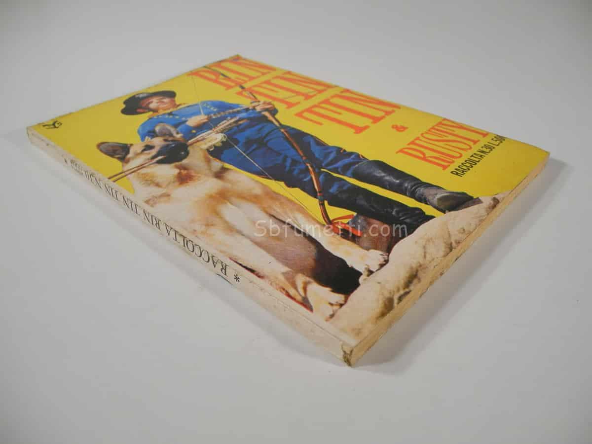 Raccolta Rin Tin Tin e Rusty n. 30 Cenisio