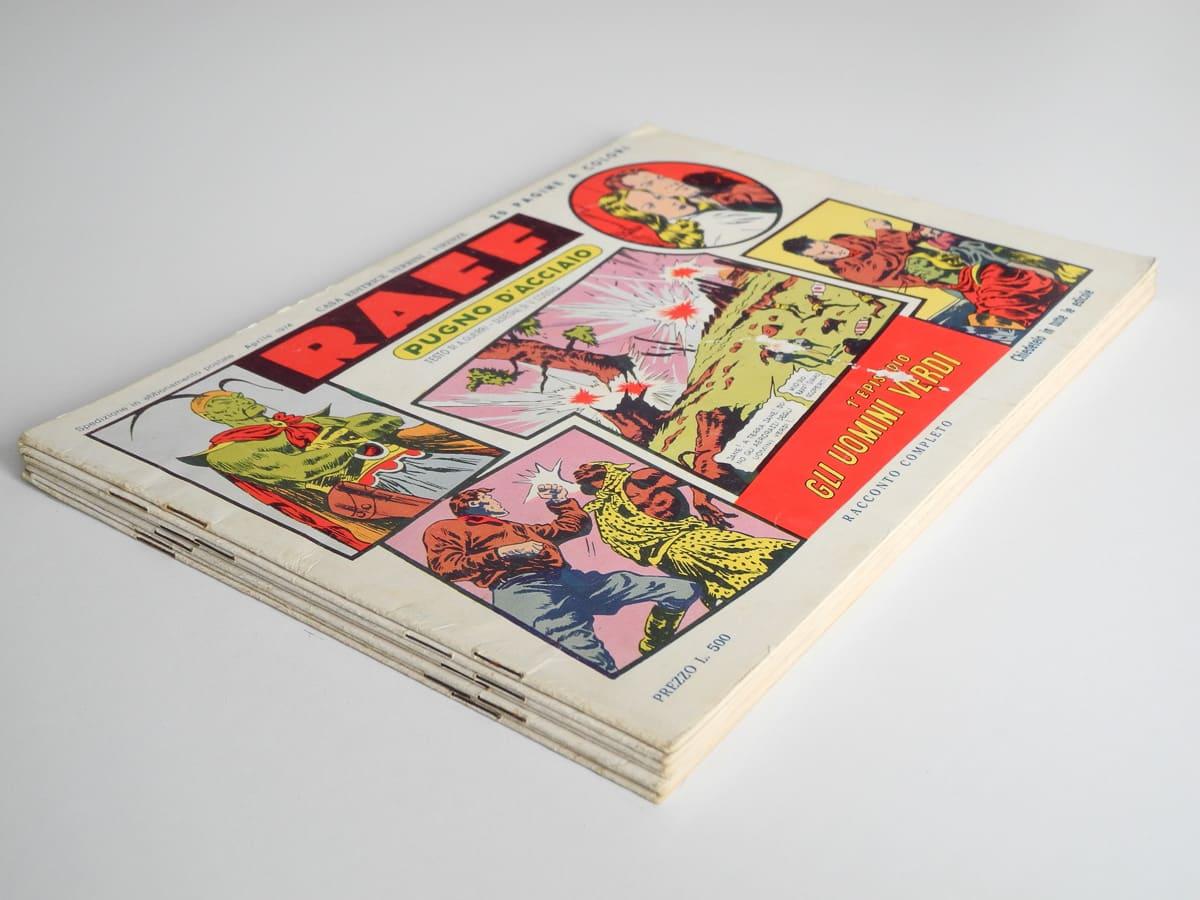 Raff Pugno d'Acciaio edizioni Nerbini
