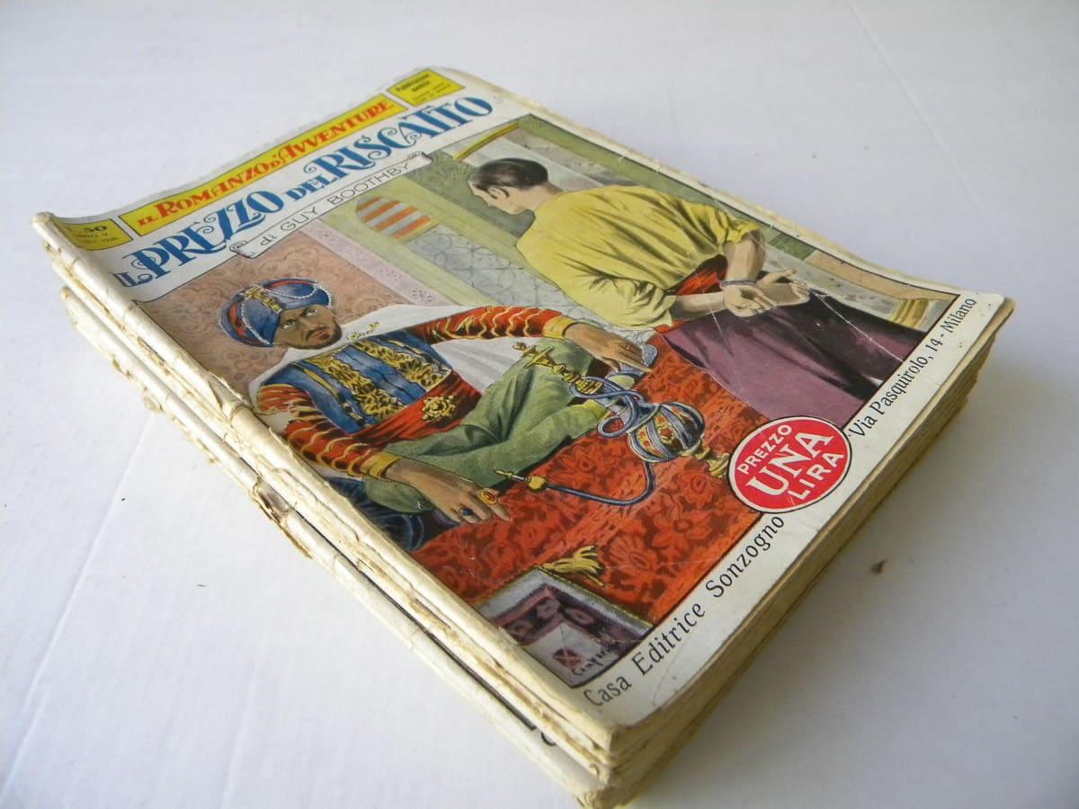 Romanzo d'Avventure lotto edizioni Mediolanum