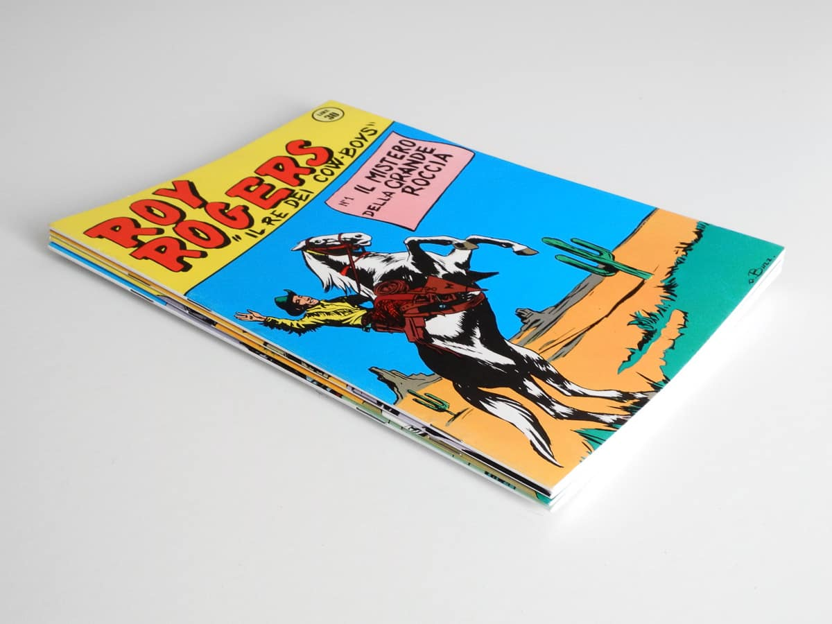 Roy Rogers edizioni Capriotti
