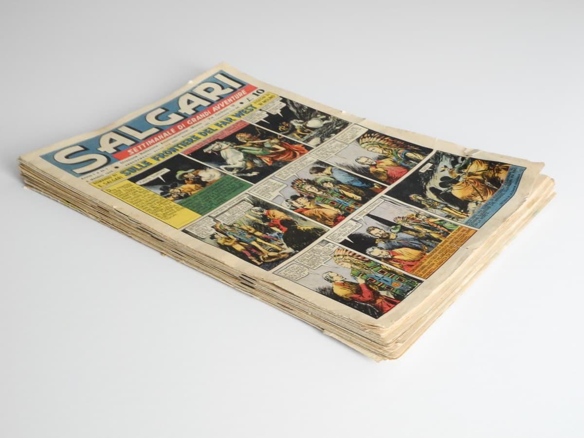 Salgari n. 1/30 completa originali La nuova biblioteca