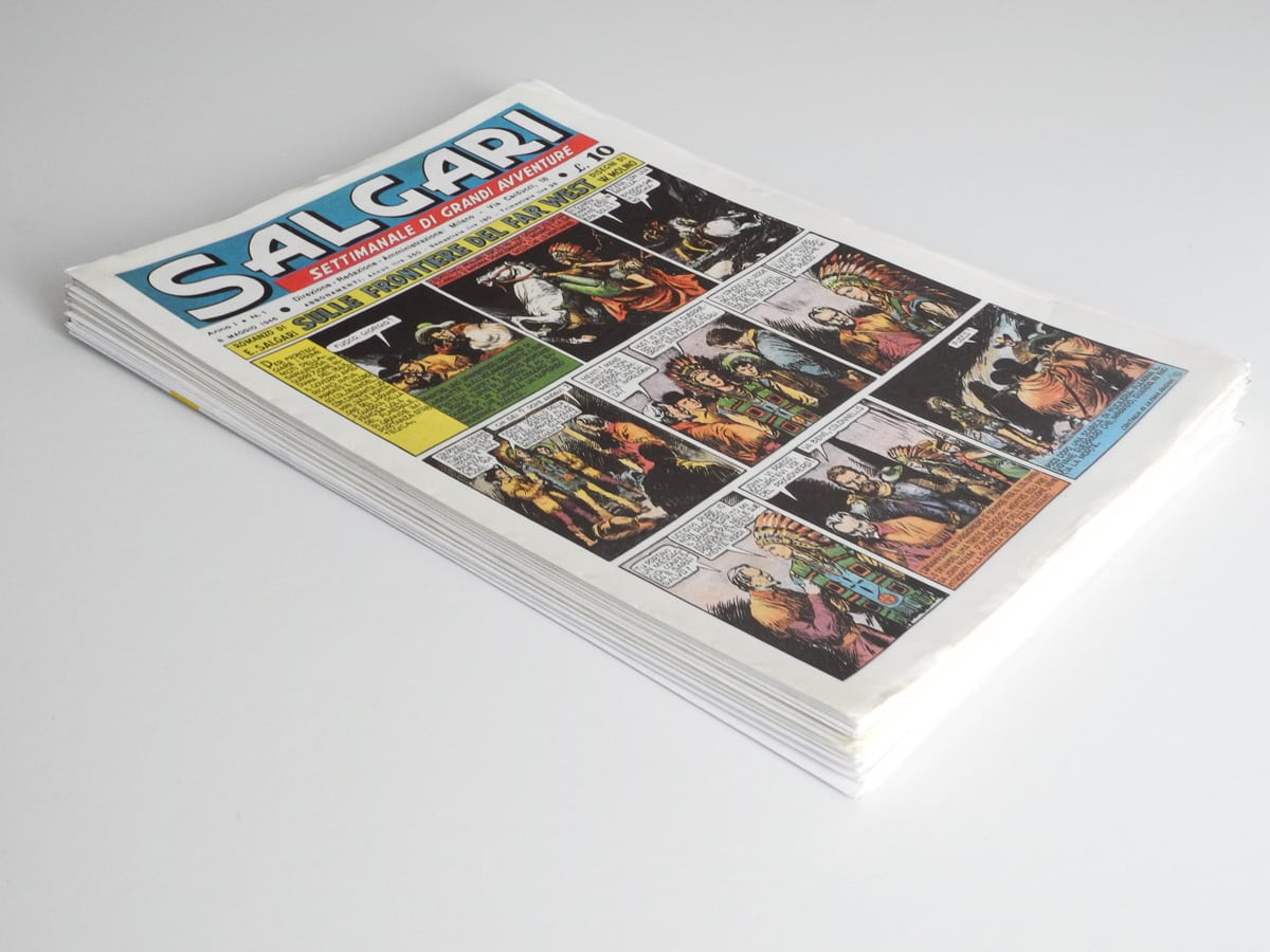 Salgari anno I n. 1/30 in anastatica La nuova biblioteca