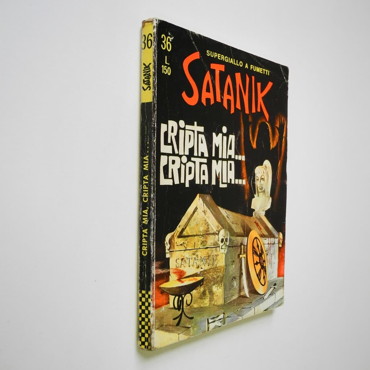 Satanik n. 36 Magnus originale