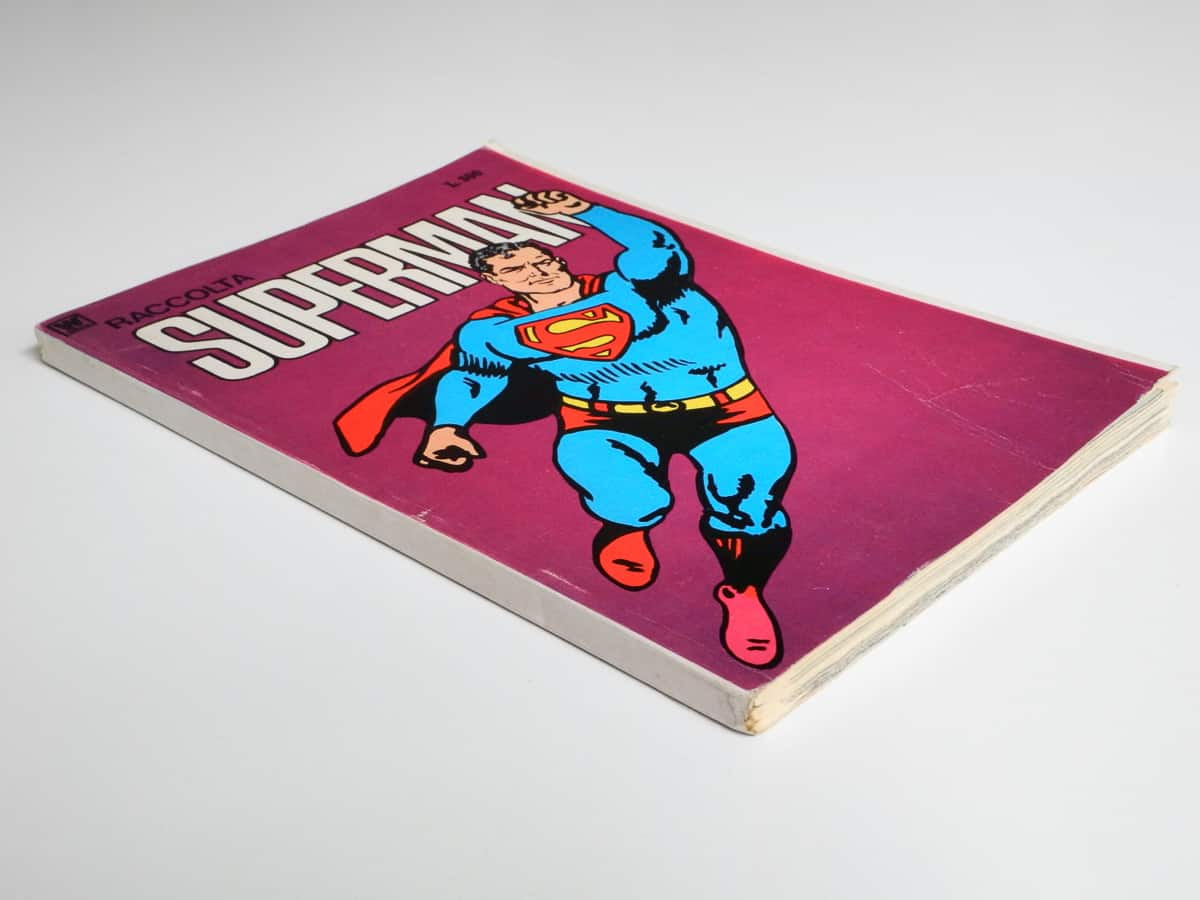 Superman Raccolta supplemento al n. 13 con 2 poster Williams Inteuropa
