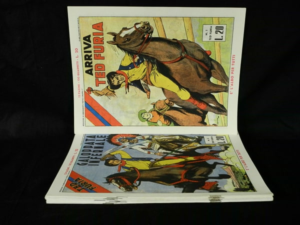Ted Furia serie completa edizioni Vulcania