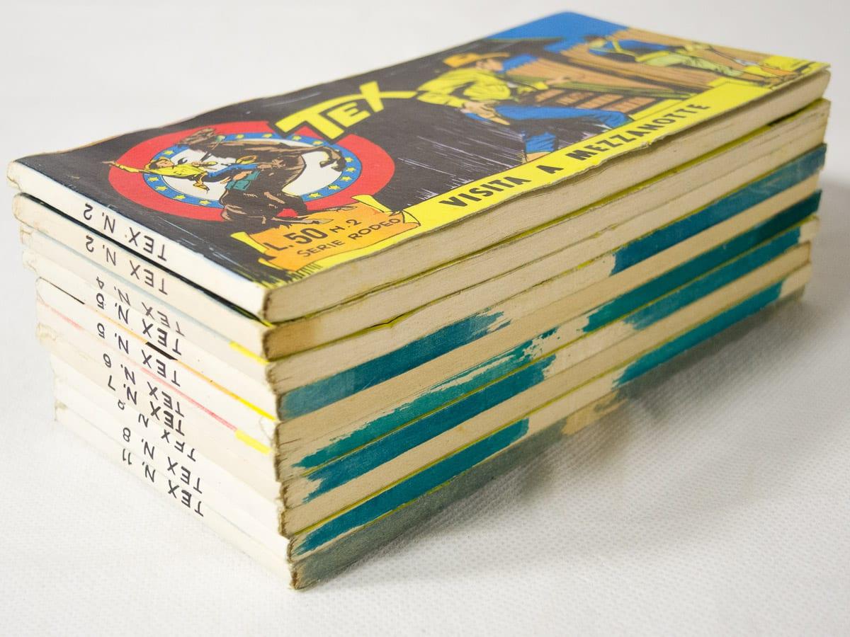 Tex striscia XXXVI serie Rodeo edizioni Araldo