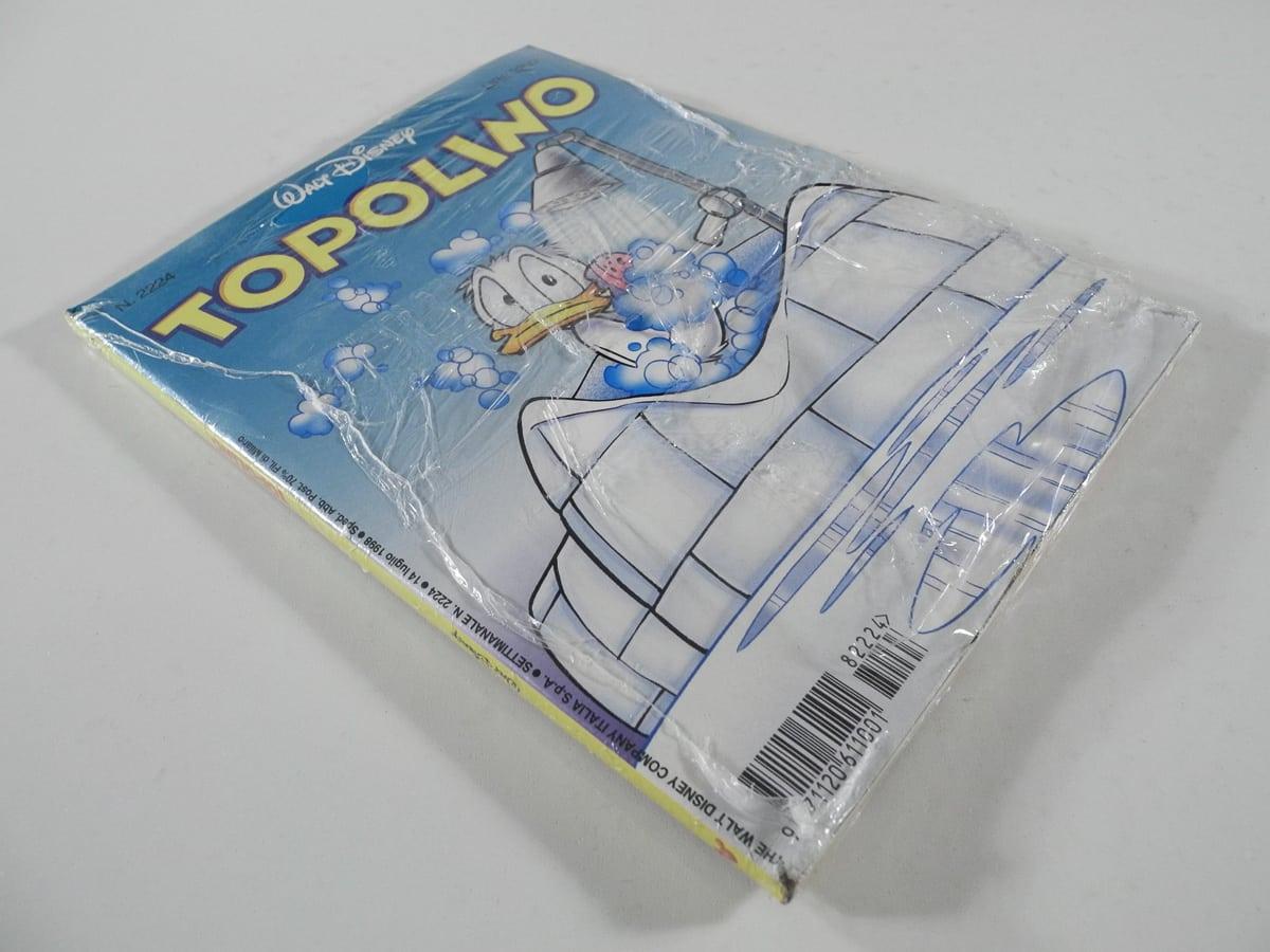Topolino n. 2224 blisterato Mondadori