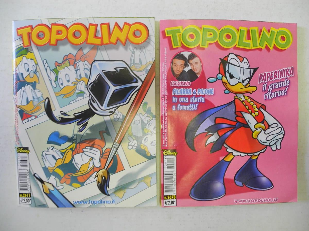 Topolino n. 2611 – 2678 Mondadori