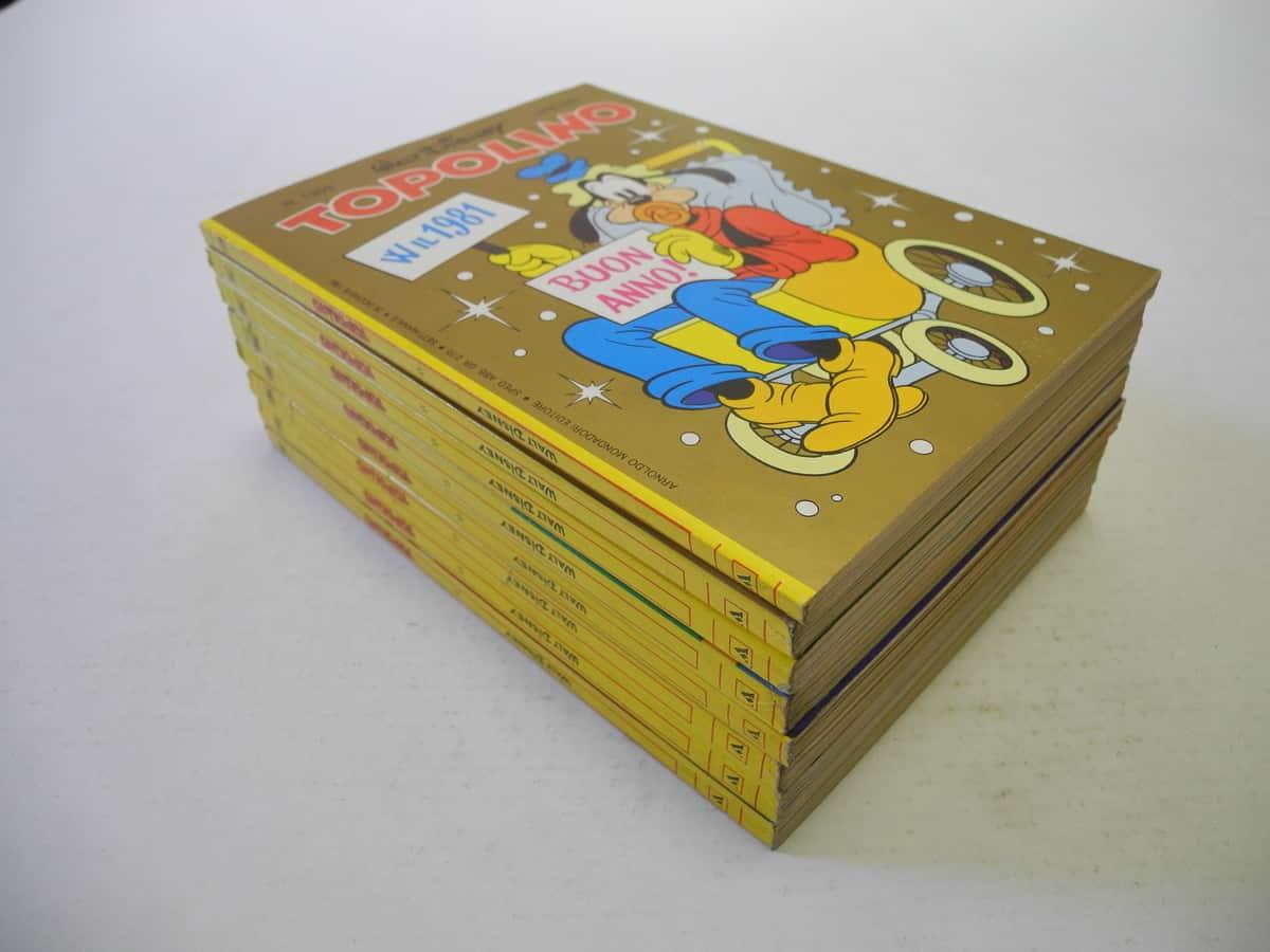 Topolino fascia n. dal 1302 al 1396 Mondadori