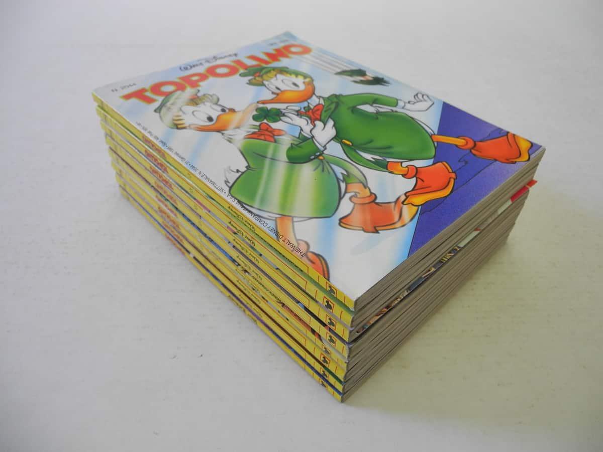 Topolino fascia n. dal 2002 al 2093 Mondadori