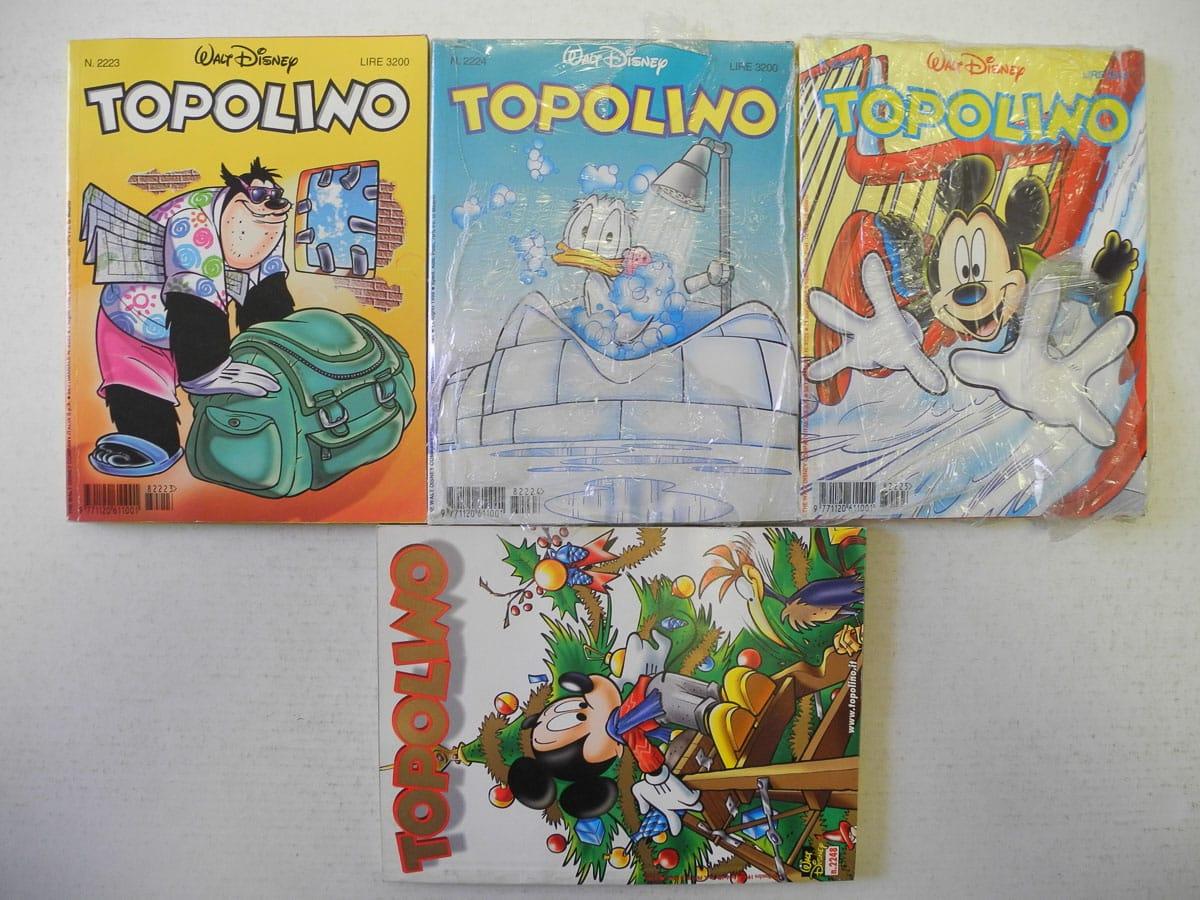 Topolino fascia n. dal 2223 al 2248 originali