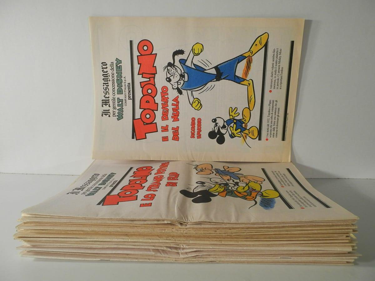 Topolino supplemento al Messaggero Comic Art