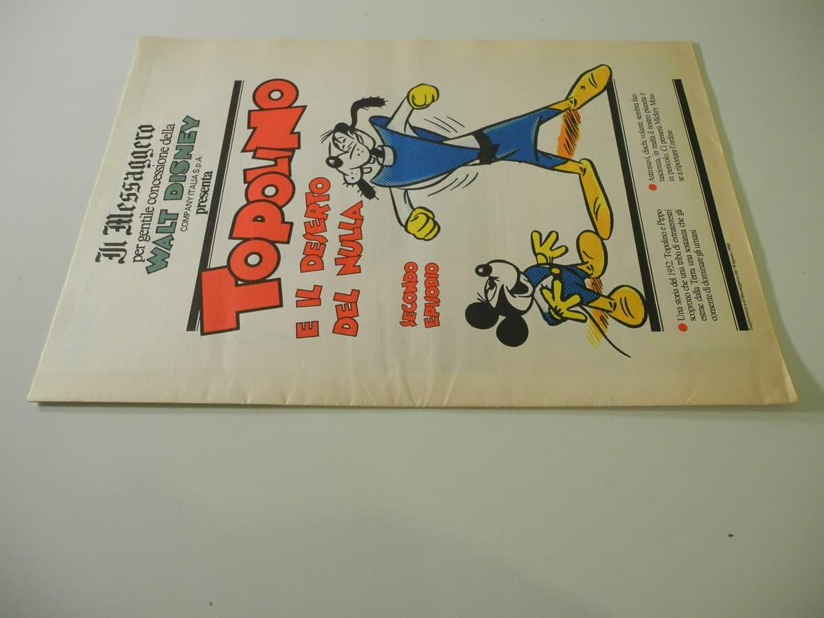 Topolino supplemento al Messaggiero Comic Art