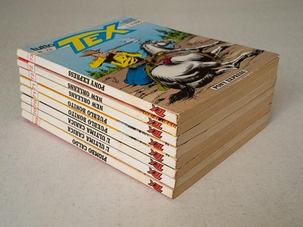 Tutto Tex edizioni Bonelli