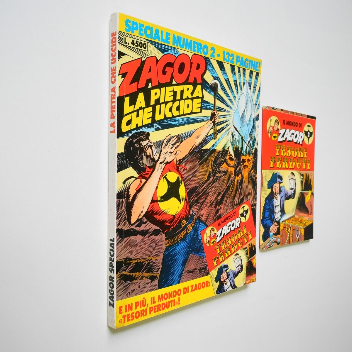 Zagor Speciale n. 2 con albetto Daim Press