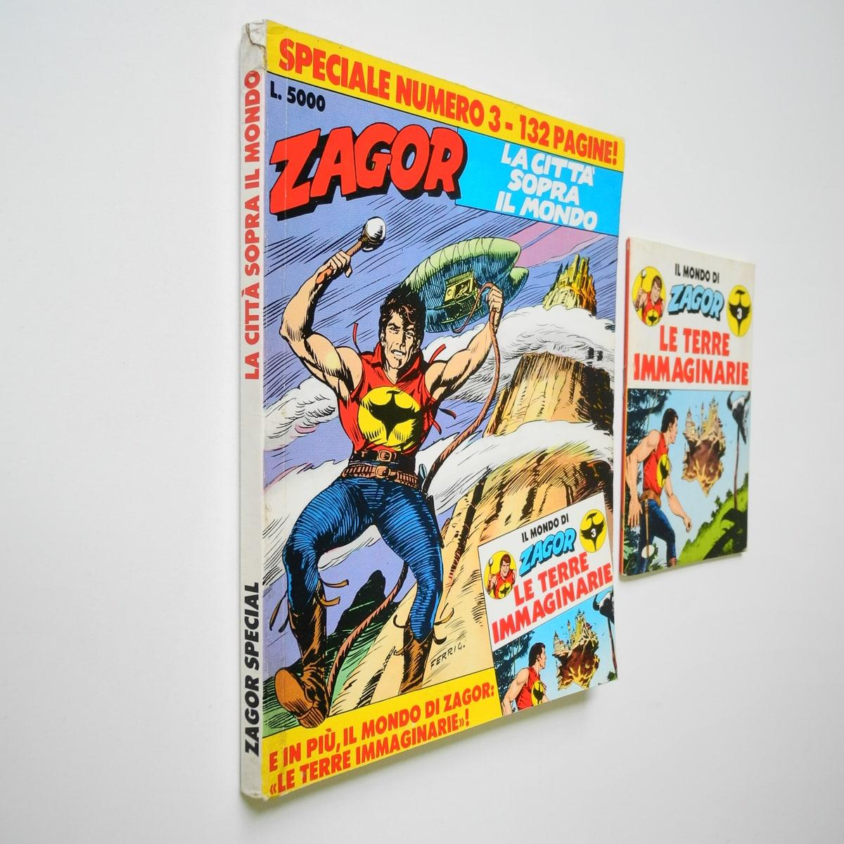 Zagor Speciale n. 3 con albetto Daim Press